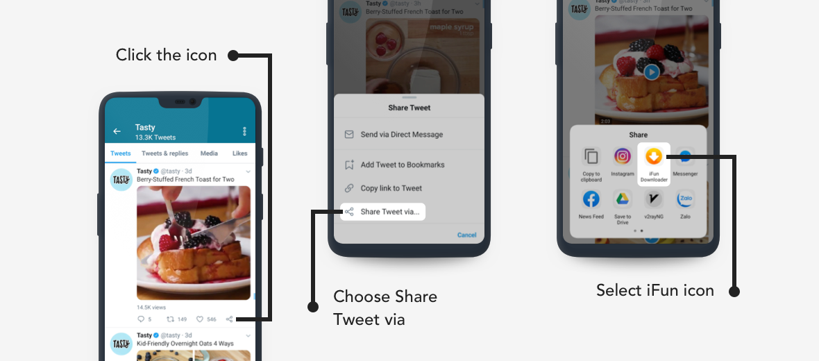 Share Twitter Video to Download